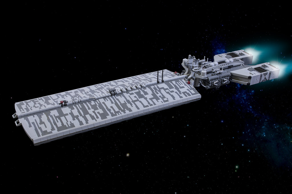 Large LEGO spaceship