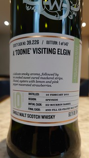 SMWS 39.226 - A 'Toonie' Visiting Elgin