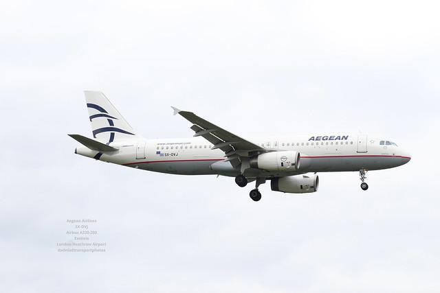 Aegean Airlines SX-DVJ