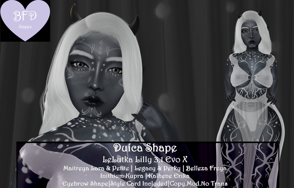 {BFD} Shapes – Duica Shapes – LeLutka Lilly 3.1 Evo X ♥ New Release!! ♥