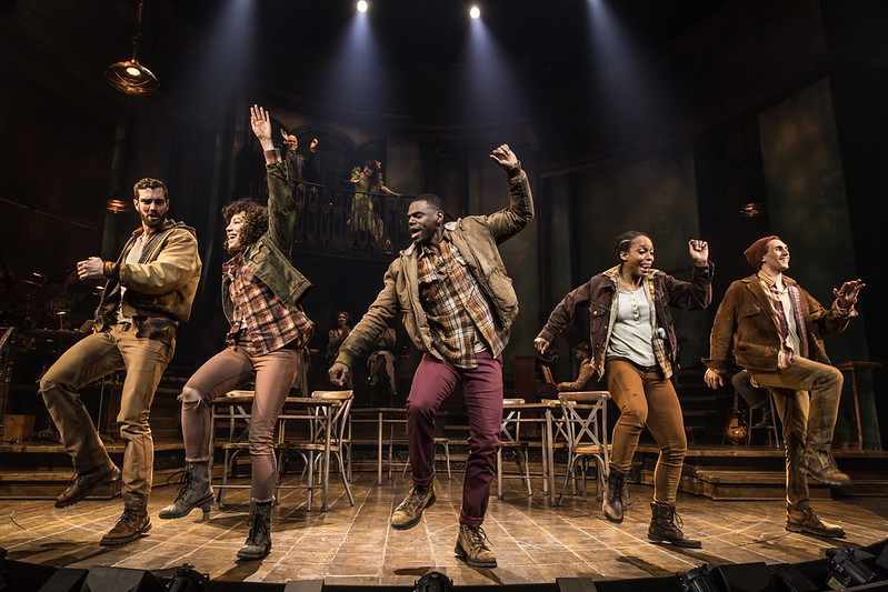 'Hadestown' Coming to Detroit's Fisher Theatre November 2021 - Wading in Big Shoes | Photo by Matthew Murphy