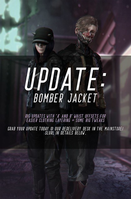 UPDATE: Turb x Contraption Bomber Jacket - NEO JAPAN