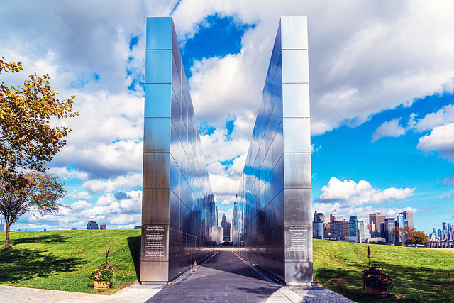 Empty Sky Memorial Liberty State Park New Jersey 2
