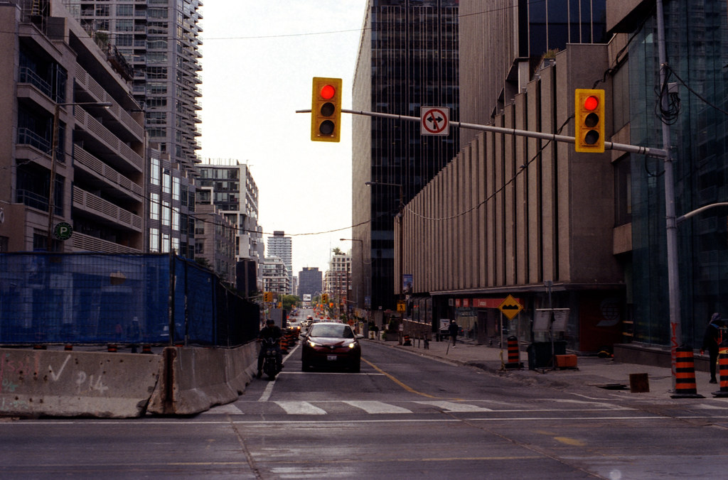 Early Morning Yonge and Eglington Looking East