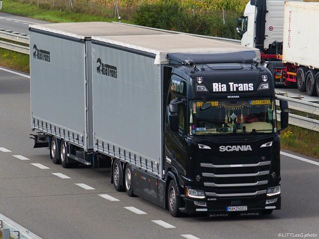 Scania S500 NG Highline Ria Trans (SK)