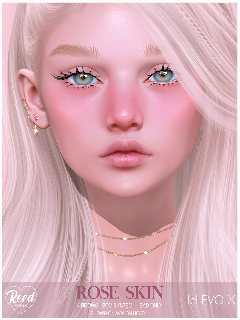 REED SKINS – ROSE LELUTKA EVO X