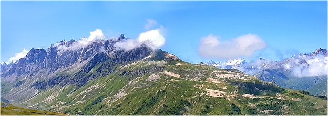 Le massif de la Setaz à Valloire