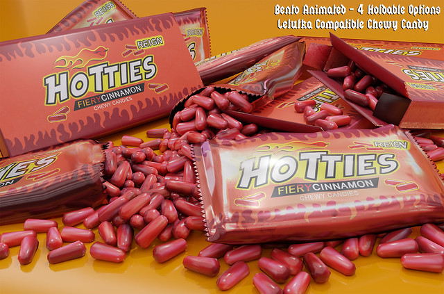 Reign.- Hotties - Fiery Cinnamon Candies