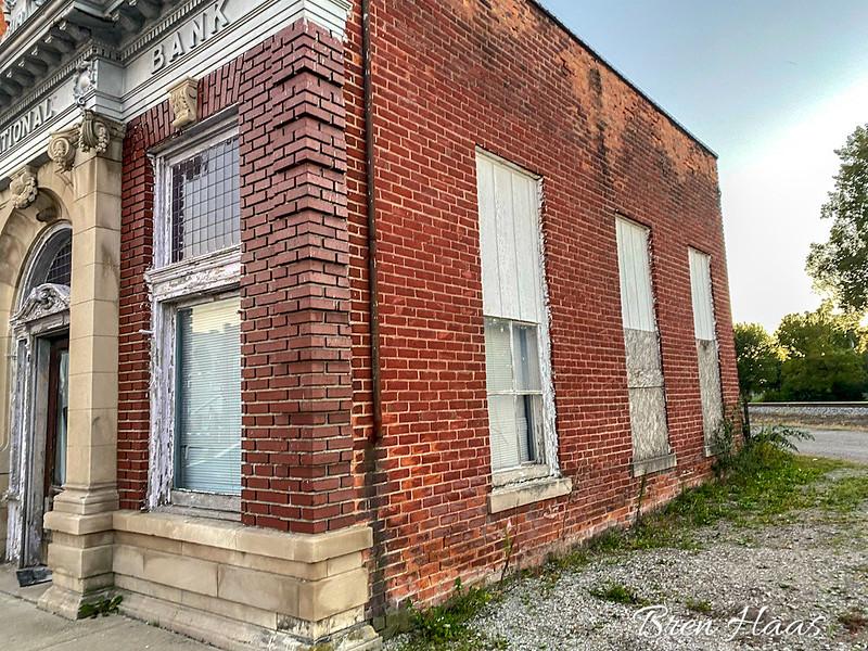 Side of Building Facing Railroad Tracks | Weston, Ohio