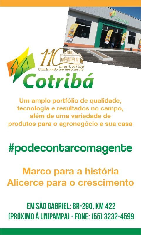 Cotribá 110 anos - Presente em São Gabriel e região