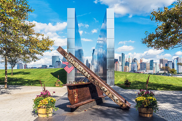 Empty Sky Memorial Liberty State Park New Jersey