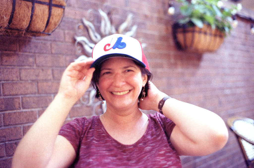 Jo-Anne and the Expos Hat_