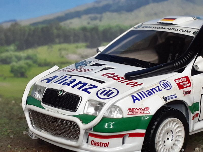 Skoda Octavia WRC - Safari 2001