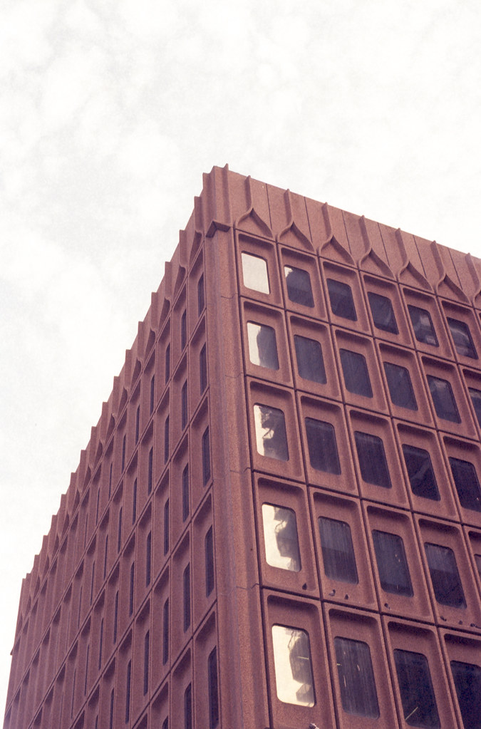 60s Modernist Office Building on Borrowed time