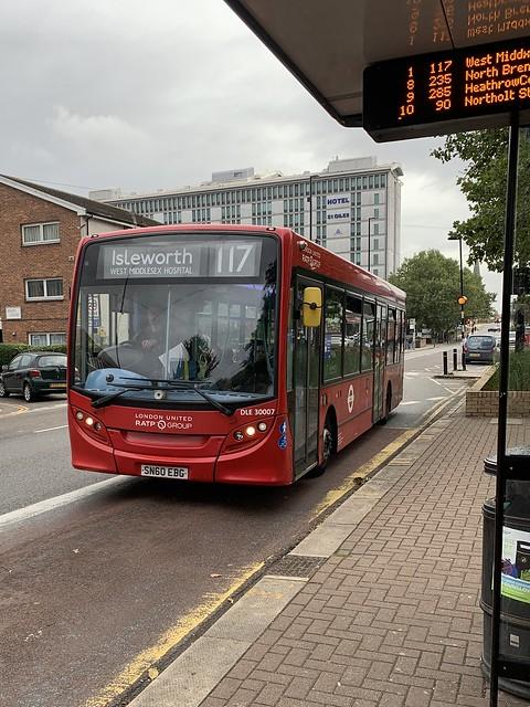 RATP London • DLE30007 • SN60EBG