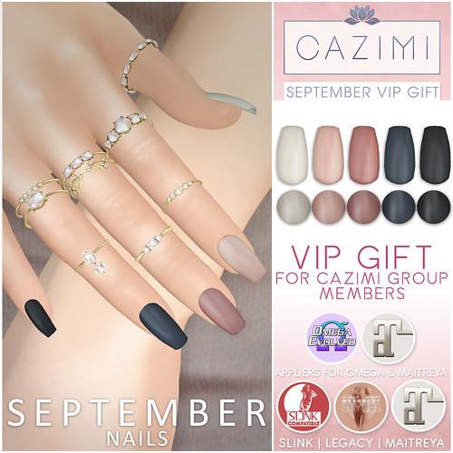 September 2021 VIP Gift