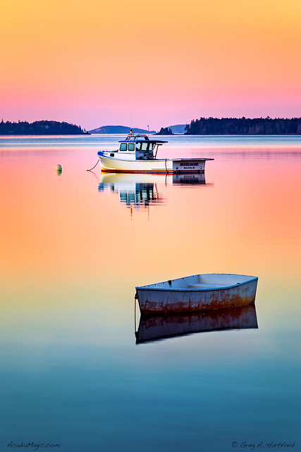 Maine Coast at 5:08 AM