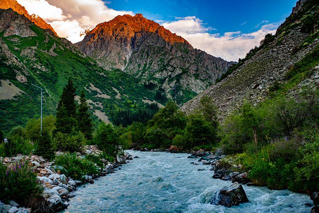 Ala Archa National Park, Bishkek, Kyrgyzstan