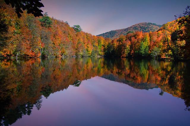 Yedi Göller'de Sonbahar(Autumn in the Seven Lakes)