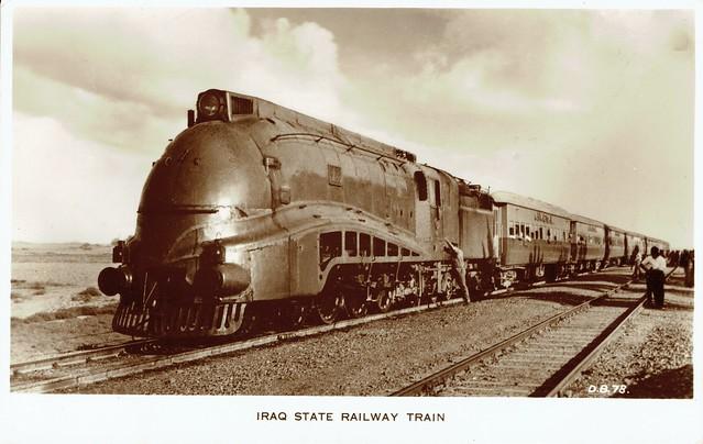 Iraq Railways - Iraqi State Railways Class PC 4-6-2 streamlined steam locomotive Nr. 502