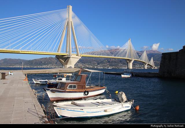 Rio–Antirrio Bridge, Greece