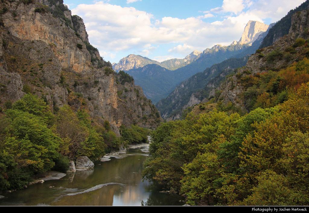 Moni Stomiou Gorge, Konitsa, Greece