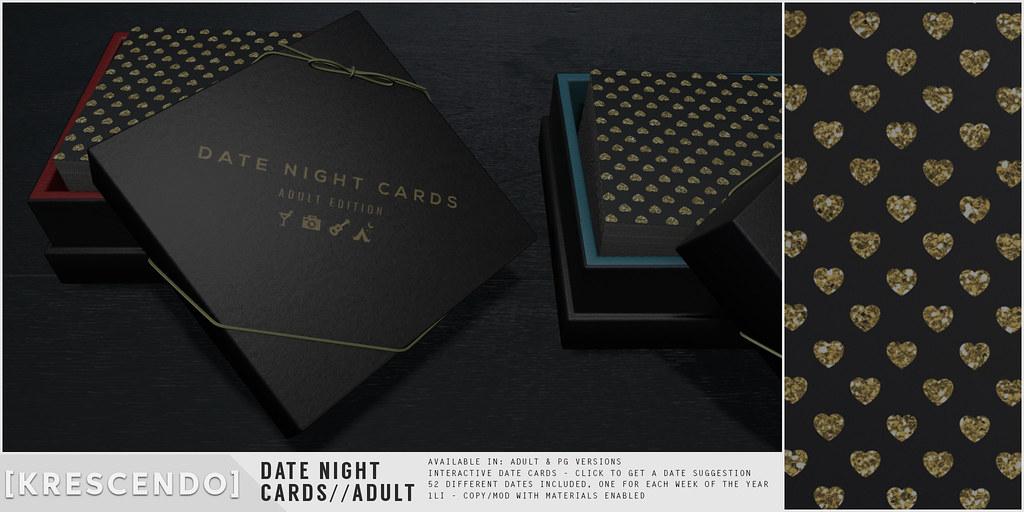 [Kres] Date Night Cards