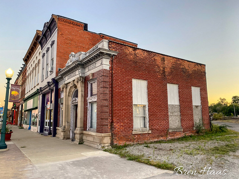 Main Street in Weston, Ohio 2021