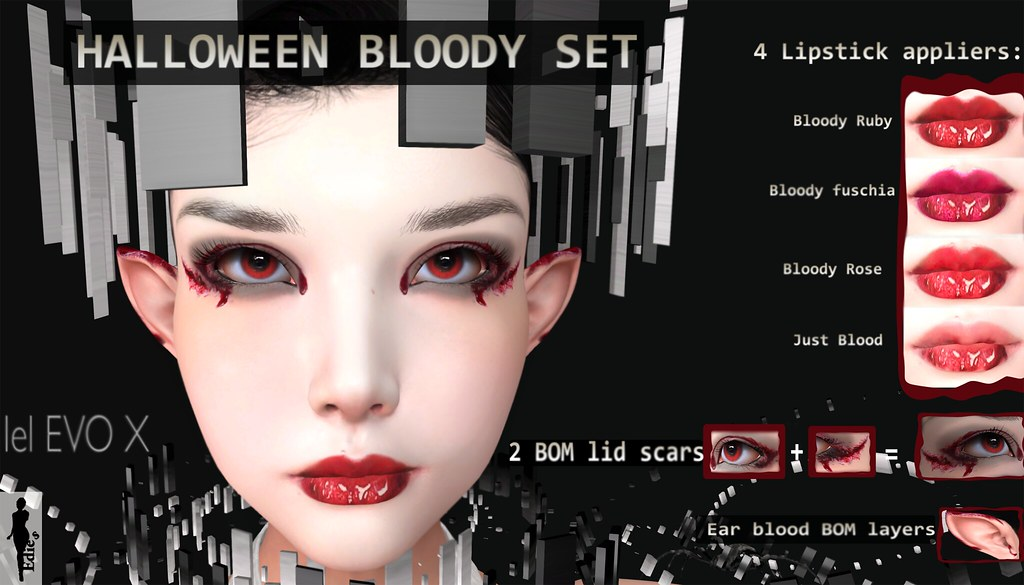 HALLOWEEN BLOODY SET AD