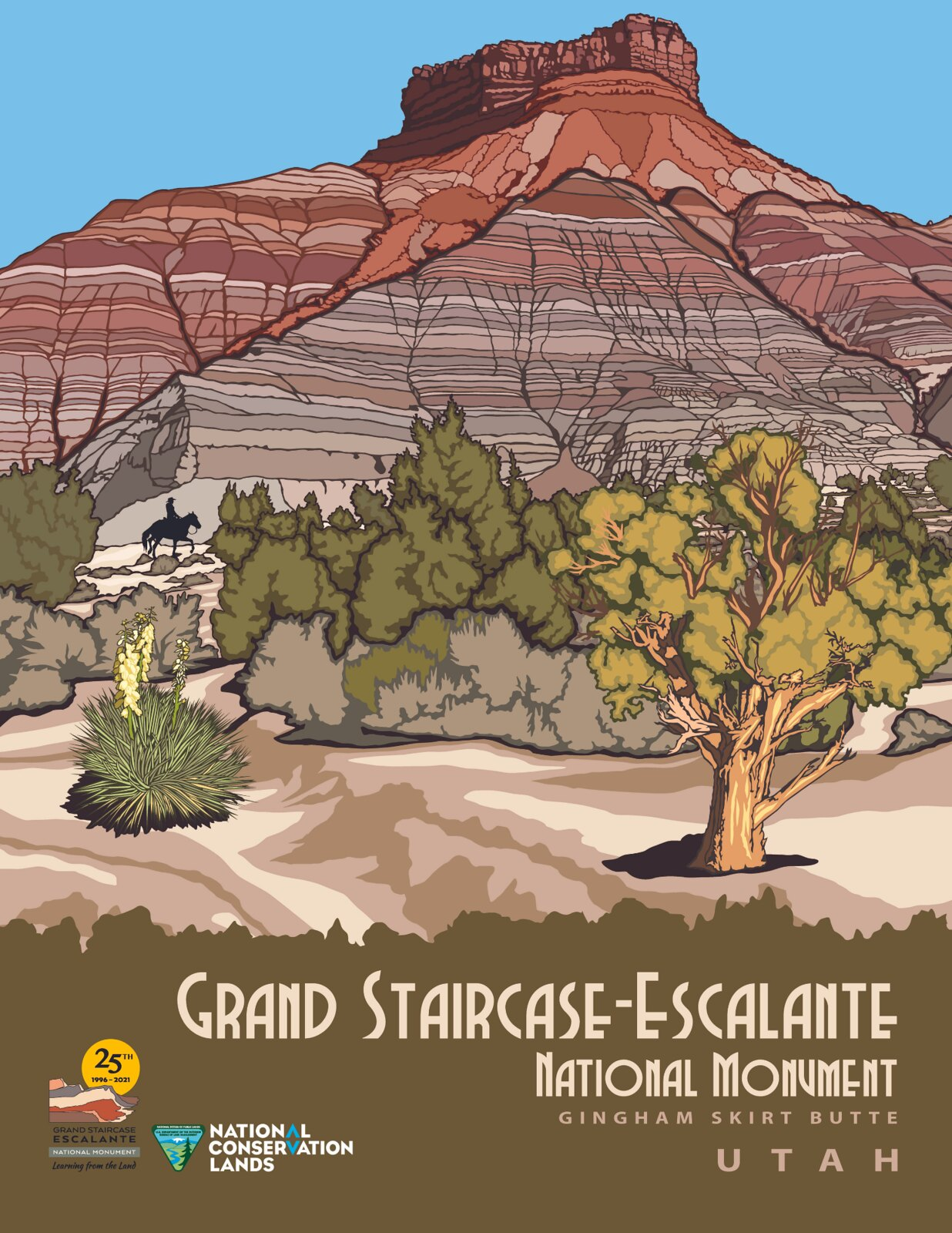 Grand Staircase-Escalante National Monument: 25th Anniversary Posters