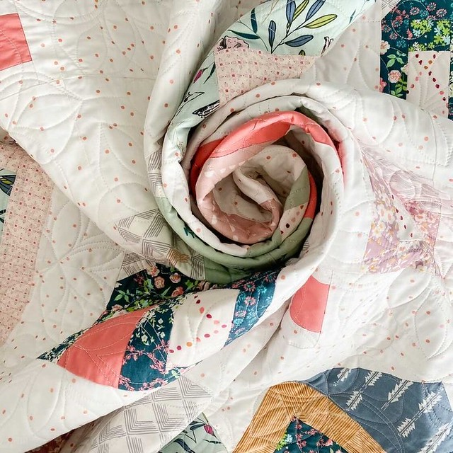 Sweet Home Quilt Swirl