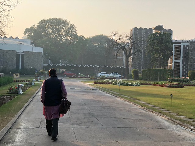 City Landmark - Joseph Stein's Tomb, India International Centre