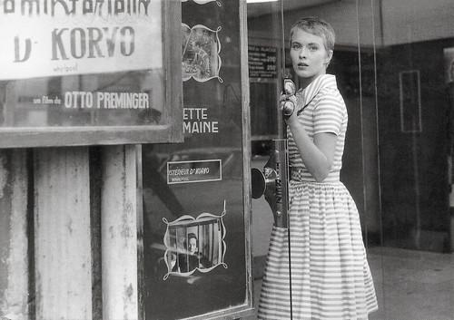 Jean Seberg in A bout de souffle (1960)