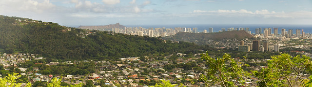Punchbowl Crater to Diamond Head Crater