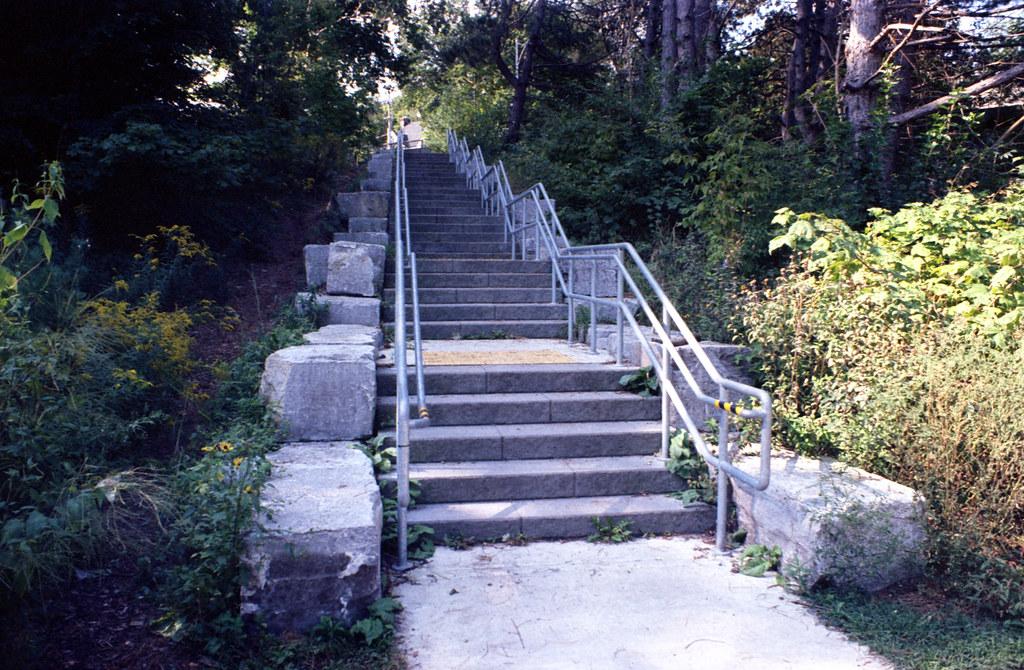 Sherwood Park Ravine Stairs_