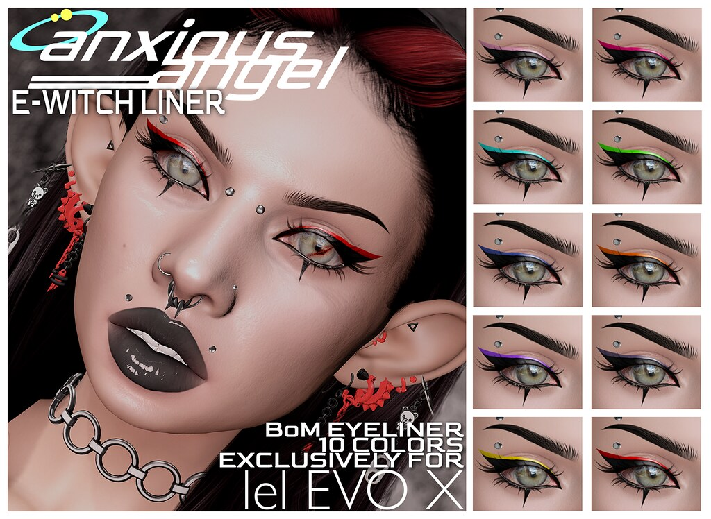 { anxious angel } E-Witch Liner @ Level Oct. 1st
