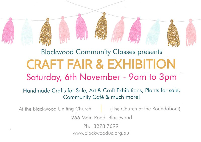 Blackwood Community Classes Craft Fair & Exhibition