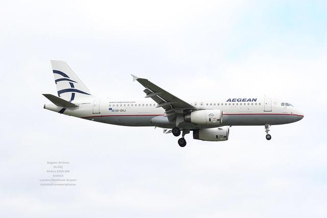 Aegean Airlines - SX-DVJ