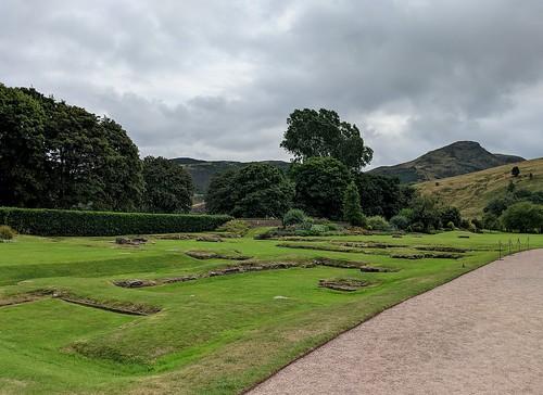 Gardens Palace of Holyroodhouse, Edinburgh