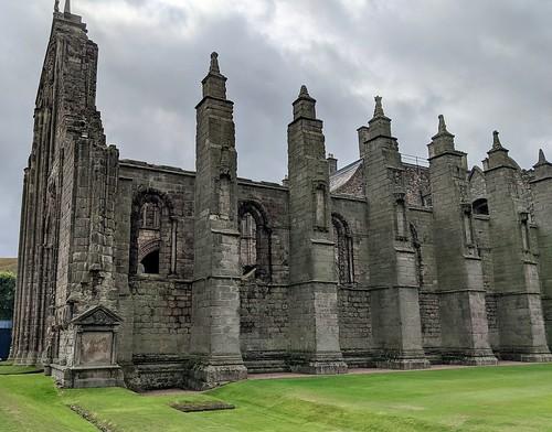 Holyrood Abbey, Palace of Holyroodhouse, Scotland