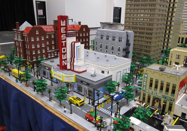 Brickworld Michigan 2021 - MichLUG Display