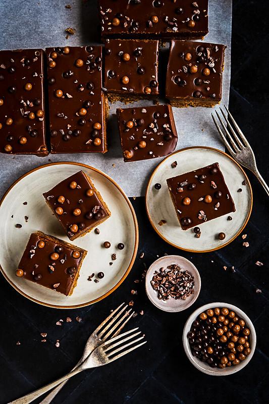 Chocolate Biscoff Crunch Square