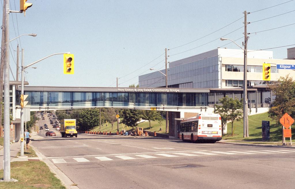 Pedestrian Bridge Over Bayview Road