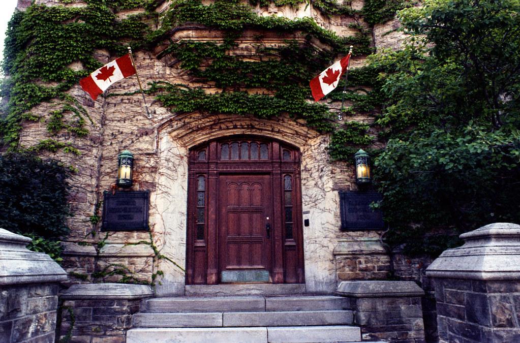 Doorway to North Toronto  Hydro Electric_
