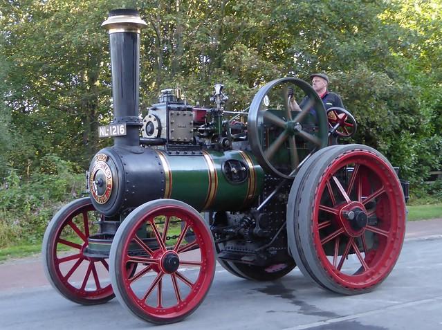 Clayton & Shuttleworth Traction Engine 38742
