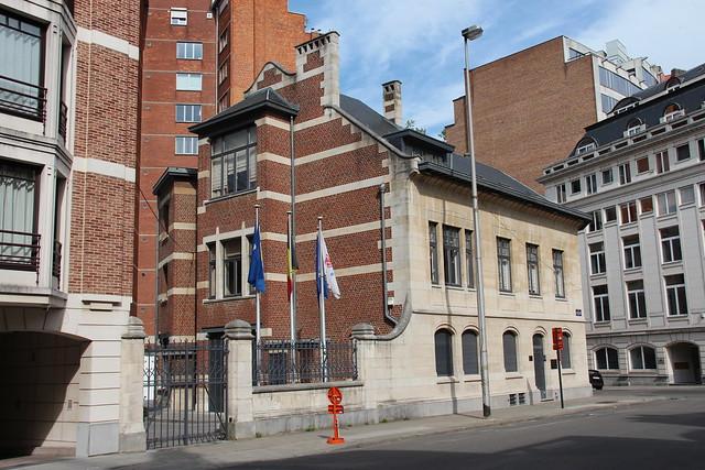 BRUXELLES - Art nouveau / Arch. O. Van Rysselberg