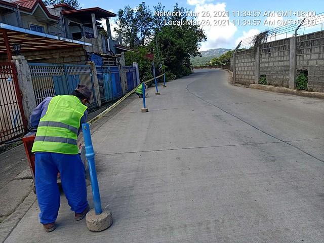 Pipe Laying Demo Mines, Ongasan, Loakan
