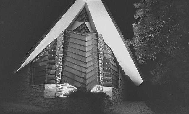 Frank LLoyd Wright Unitarian Meeting House