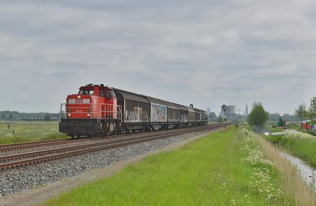 DBC 6412 + Afvoer Eemshaven   Adorp   29-5-2021