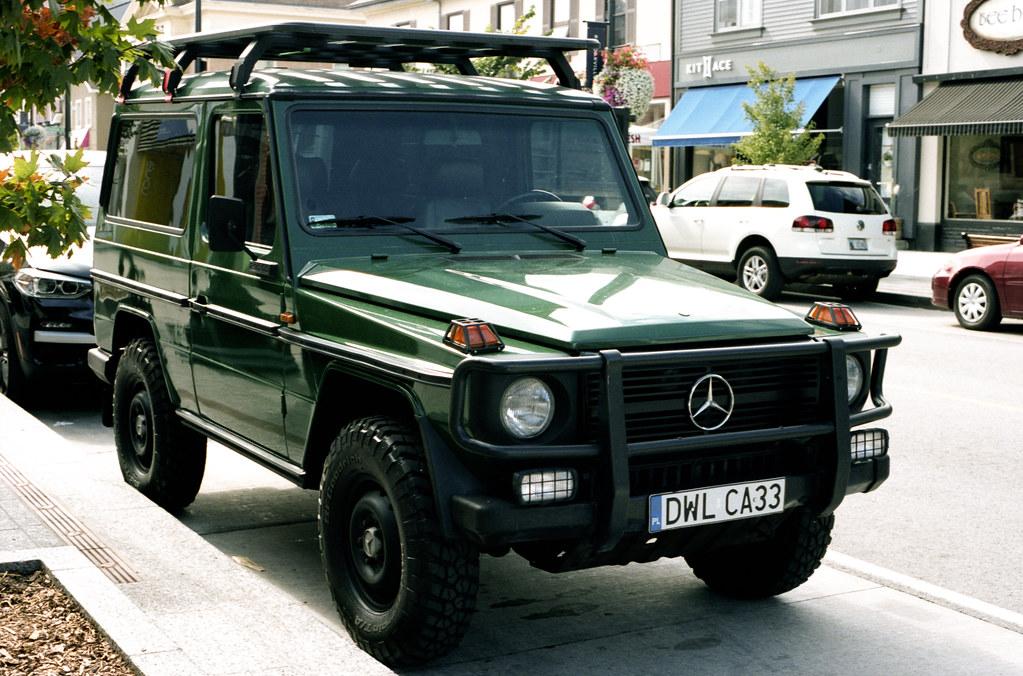 Vintage Mercedes 3 Door G Wagon